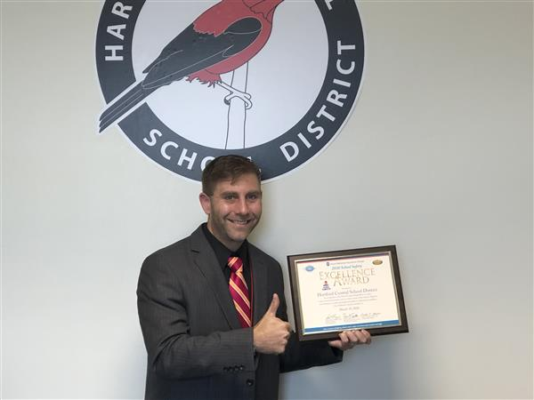 "District Earns Utica National Insurance Group's ""School Safety Excellence Award"""