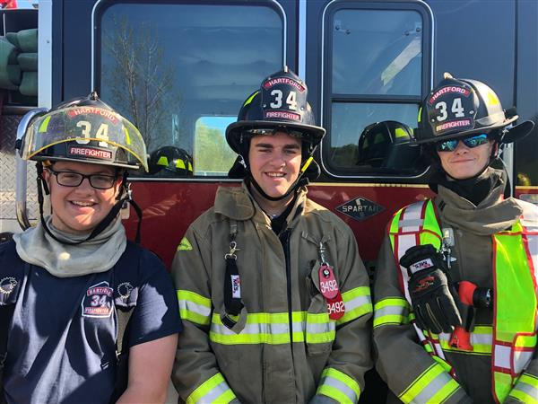 Hartford firefighters