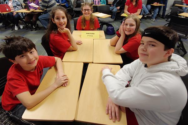 battle of the books 5th grade team
